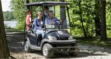 Electric cart at Center Parcs Bispinger Heide