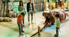 Interactive Indoor Minigolf at Center Parcs Het Heijderbos