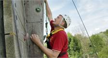 Wall climbing (Outdoor) at Center Parcs De Kempervennen