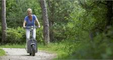 E-scooter at Center Parcs De Kempervennen