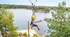 Super Zip Wire at Center Parcs De Vossemeren