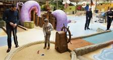Interactive Indoor Minigolf at Center Parcs De Vossemeren
