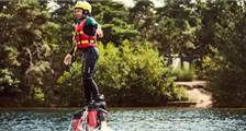 Flyboarding at Center Parcs De Vossemeren
